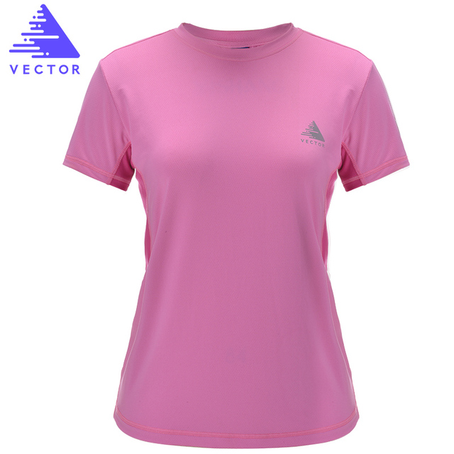 VECTOR Professional Sports T-Shirts Men Women Short Sleeve Coolmax Quick Dry Running Fitness T-Shirt Outdoor Hiking TXD10025