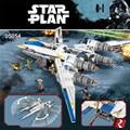 Nuevo 679 unids Lepin 05054 Serie Rebeldes U ala aviones de combate StarWar Building Blocks Ladrillos Modelo Juguetes 75155 Niños Regalos
