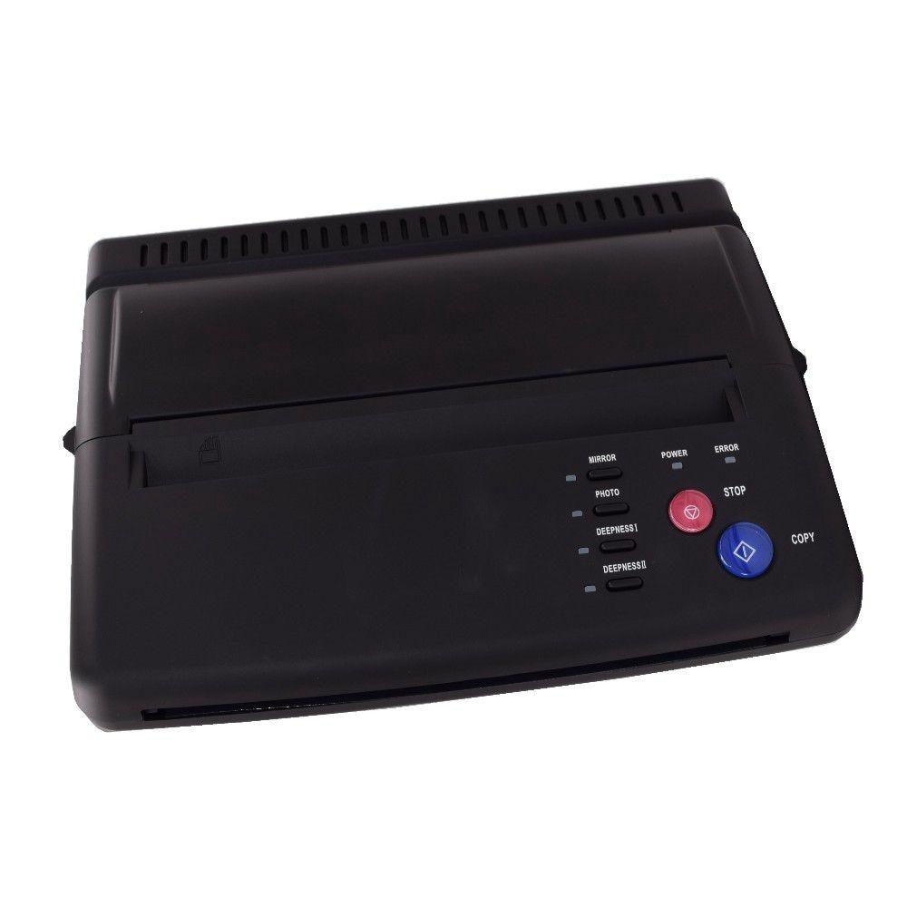 Máquina de Cópia de Tatuagem Nova de Transferência Stencil Impressora