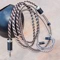8N наушники A2DC кабель MMCX для Shure SE215 SE535 SE846 для Sennheiser IE80 IE8 IE8I 0 78 мм для w4r TF10 ZS3 IM50 провод ручной работы
