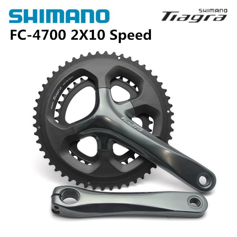 Shimano FC 4700 Tiagra 10S 20S Crankset Bicycle Components Road Bike Chain Wheel Accessory Parts стоимость