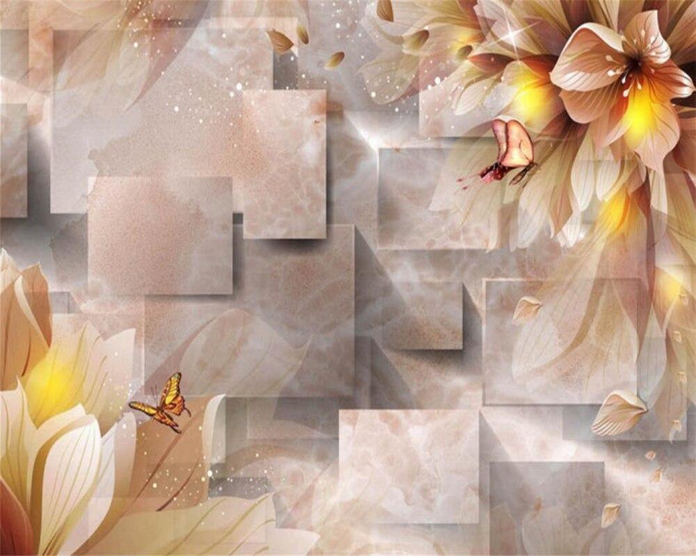 Beibehang 3d Mural Wallpaper Customized Large Wallpaper 3D