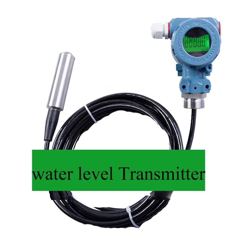 20m water level Transmitter/ level sensor hydrostatic level transmitter level gauge Liquid depth tester, output signal 4-20mA 4 20ma level transmitter level controller input type level sensor for high temperature corrosive liquid sewage 8m