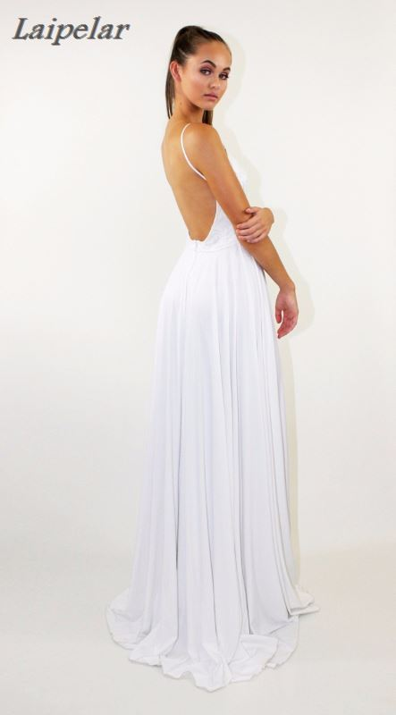 Elegant Backless Satin Long Dress Women Casual 2018 New Summer Sexy Sleeveless Night Party Maxi Dresses White Art Vestidos in Dresses from Women 39 s Clothing