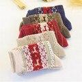 ¡ Venta caliente! calcetines de las mujeres de la señora de Regalo de Navidad 3d señoras de la Moda de Invierno de Lana de Conejo Calcetín lindo Calcetines Térmicos Femeninos Calcetines Calientes