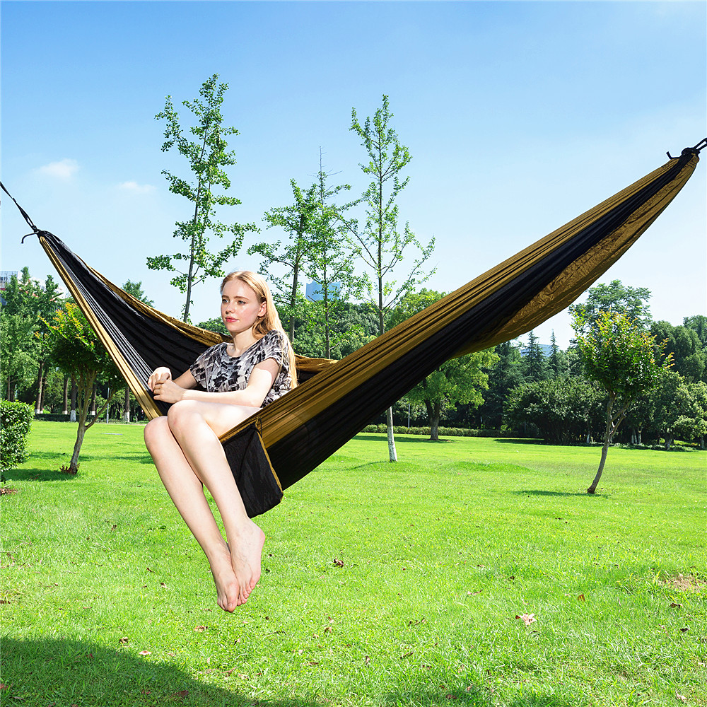 300*200 Outdoors Portable Camping Parachute Sleeping Double Hammock Garden Swing Hamac Hanging Chair Hamaca Rede Amaca