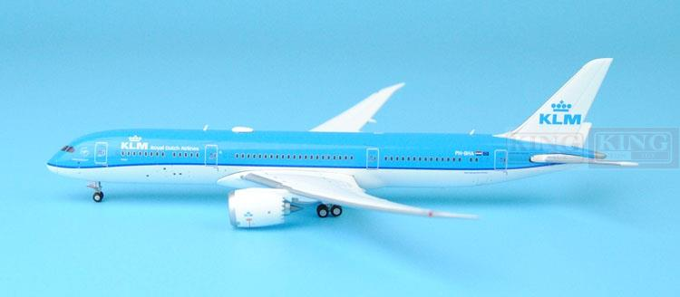 GJKLM1507 GeminiJets Holland Royal Air PH-BHA 1:400 B787-9 Commercial Jetliners Plane Model Hobby