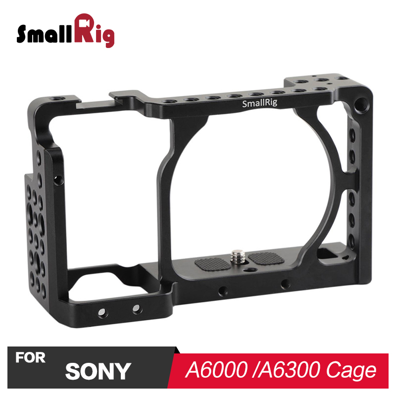 SmallRig Camera Cage for Sony A6000 A6300 A6500 ILCE 6000 ILCE 6300 ILCE A6500 Nex 7