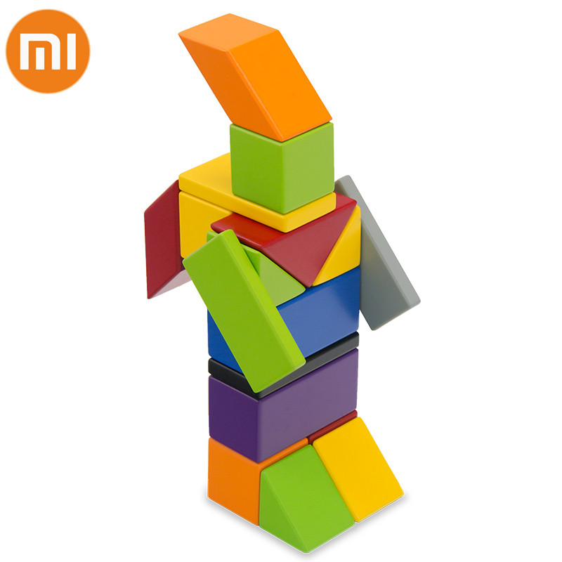 Original Xiaomi Mijia Mitu Magnetic Building Block Robot Mitu Magnetic Toy Bricks Designer Magnetic Toys Children Birthday Gift