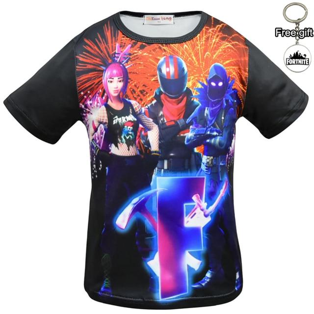 boys nice T-shirts for kid's Creative Design Summer Tee sports shirts Casual Streetwear cool Tops Funny T shirts boys Black 4