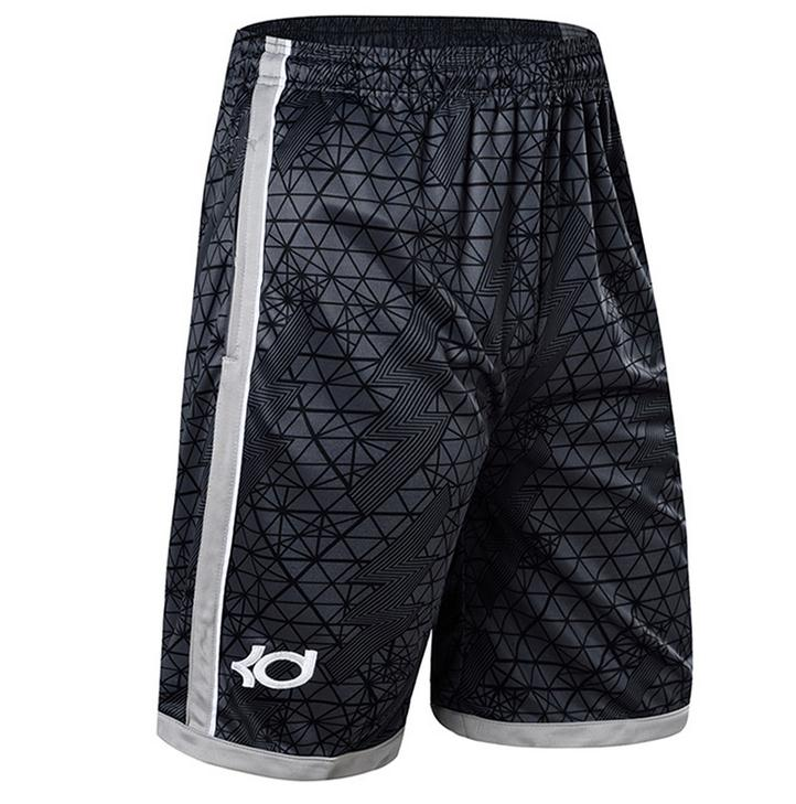 NEW 2019 Summer outdoor Sport GYM KD Printed Training Shorts loose basketball short trousers Running Men Breathable Bottoms in Basketball Shorts from Sports Entertainment