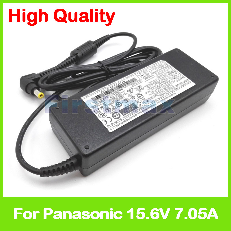 15 6V 7 05A 110W laptop charger AC adapter CF AA5713AM1 CF AA5713AE for Panasonic Toughbook