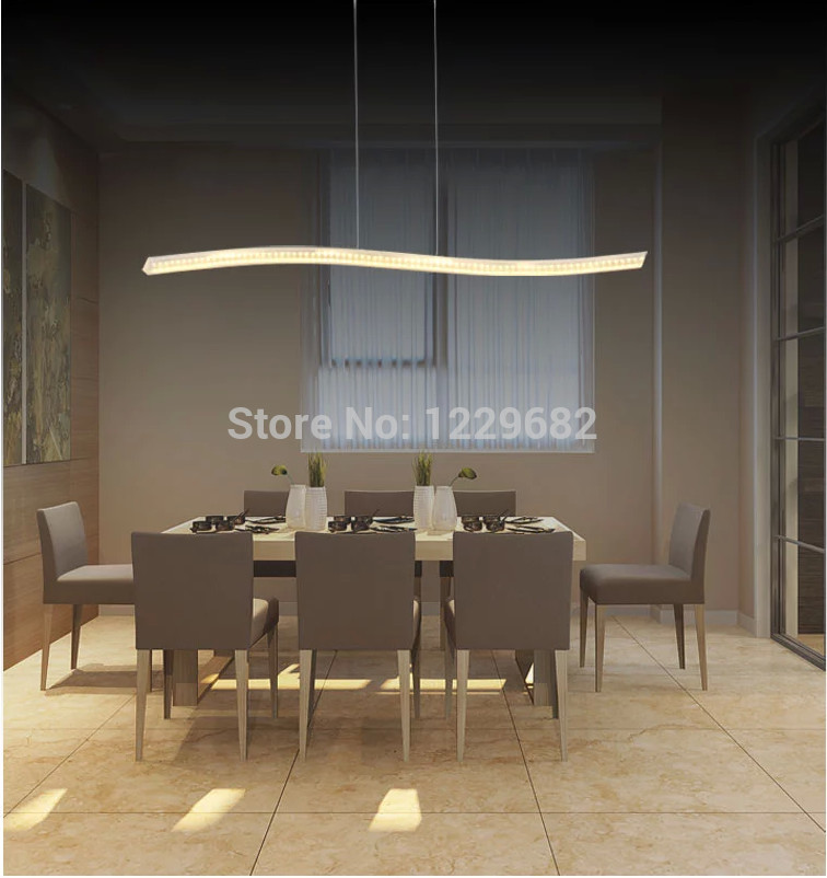 2015 new fashion led dining room chandelier for home kitchen room decorative hanging chandelier light modern cheap price in chandeliers from lights - Led Dining Room Lighting