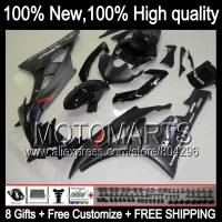Body Body ALL Flat Black For YAMAHA YZFR6 06 07 YZF 600 YZF R 6 YZF600