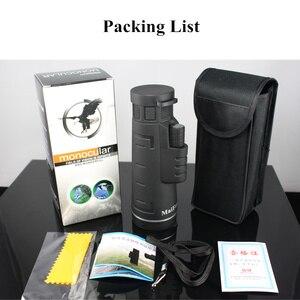 Image 5 - High Power 18X62 Monocular Lll Night Vision Telescope Professional Long Range Portable Binoculars Monocular for Camping Hunting