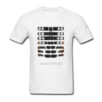面白い車のtシャツ3シリーズ進化の5メンズトップス半袖服tシャツクラシック男