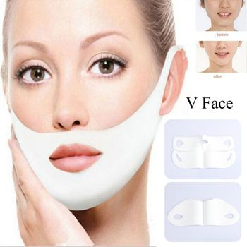 V Face Gel Sheet Mask Lifting Firming Face Mask Slimming for the Face Shaper Anti Wrinkle