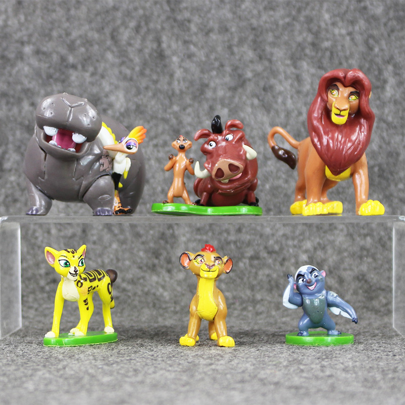 6pcs/lot Madagascar Toys Collection Figures Model Dolls