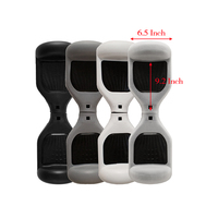 Free Shipping 2 Pcs Arrival 6 5 Self Balancing Electric Scooter Silicone Case Sleeve Wrap Enclosure