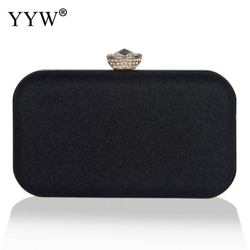 Rhinestone Women Evening Bag Party Banquet Bag For Women Wedding Clutches Handbag Chain Shoulder Bag 2019 New Bolsas Mujer