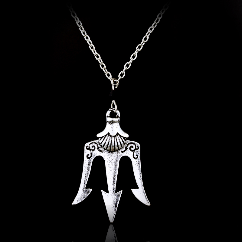 silver pendant jewelry sterling poseidon collections collection shop classic men trident