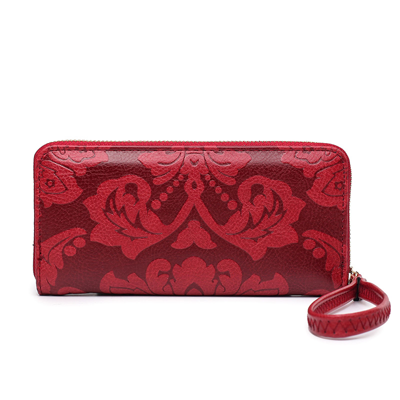 long wallet pu de couro Altura do Item : 9.5cm