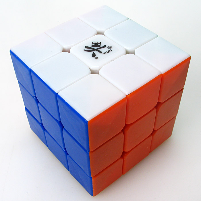 Promo Cheapest Magic Cube Puzzle Dayan Guhong 2 V2 57mm 3x3x3 Speed Cube Puzzle Cubo Magico Kids Educational Toys