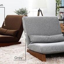 Пол складной одно сиденье софа кровать современная ткань японская мебель для гостиной без рукавов Lounge Recliner время от времени Акцент стул