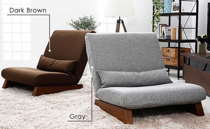 Vloer Vouwen Enkele Zetel Sofa Bed Moderne Stof Japanse Woonkamer Meubels Armless Lounge Fauteuil Occasionele Accent Stoel