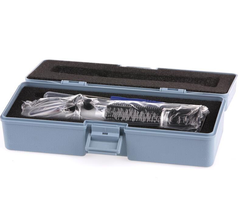 Mano de alcohol refractómetro Brix de azúcar 0-40% alcohol 0-25% alcoholímetro azúcar Metro refratometro con caja al por menor 30% off