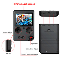 Video Game Console 8 Bit Retro Mini Pocket Handheld Game Player Built-in 168 Classic Games Best Gift for Child Nostalgic Player 5