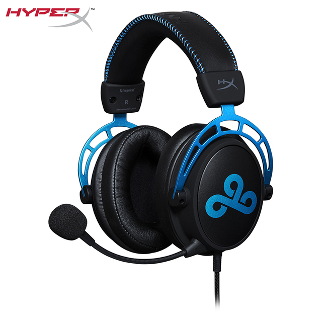 HyperX Cloud Alpha Cloud9 Edition Headset HyperX Dual Chamber Drivers Game Headphones comfort