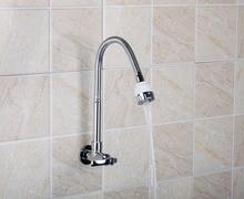 Yanksmart RQ8551-4 современная ванная комната Одной ручкой Кухня Раковина кран поворотный носик в chrome отделка судна кран
