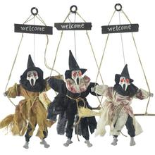 Children Fun Halloween Hanging Ornament Pendant Glowing Tricky Props Toys