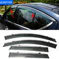 Car Stylingg Awnings Shelters 4pcs/lot Window Visors For Mazda 8 2011-2016 Sun Rain Shield Stickers Covers