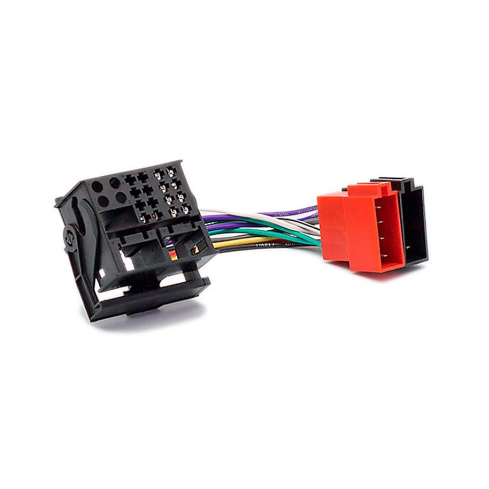 Car Stereo Iso Radio Wiring Harness Headunit Connector Loom Boss Vw Jetta For Citroen C2 C3 C4 C5 Peugeot Adapter Auto