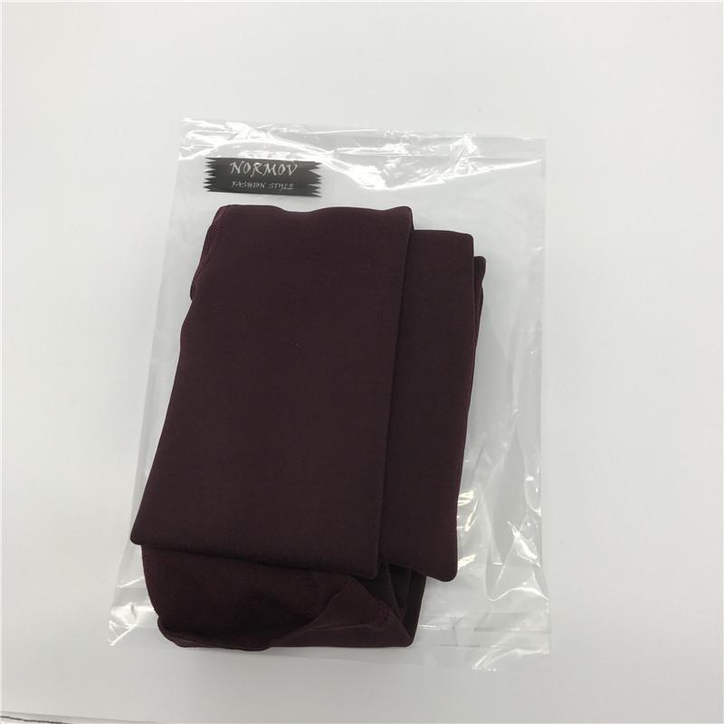NORMOV Women's Winter Plus Cashmere Leggings Fashion Big Size Warm Super Elastic Faux Velvet Winter Thick Slim Leggings 22