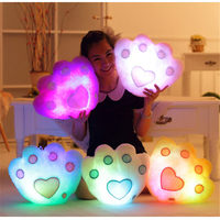 Luminous Pillow Christmas Toys Led Light Pillow Plush Pillow Hot Colorful Stars Kids Toys Birthday Gift
