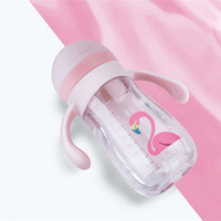 1 PC Portable Cartoon Baby Feeding Cup Kids Drinking Water Bottle For Baby Kids feeding Cup Best Gift