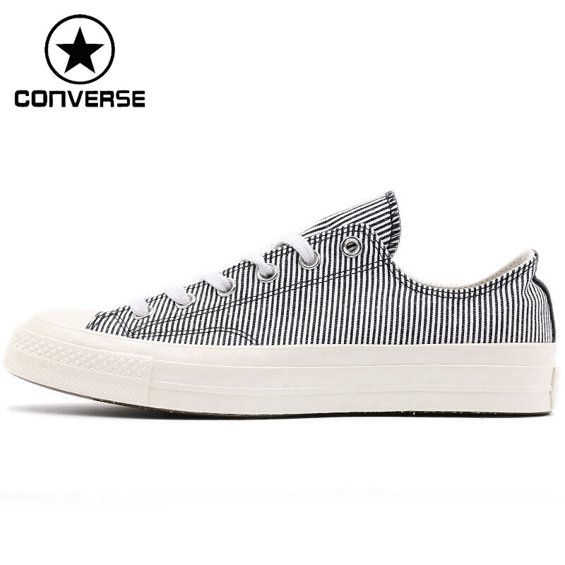 Original New Arrival 2018 Converse Chuck Taylor 70 Unisex Skateboarding Shoes Canvas Sneakers new converse chuck taylor all star ii low men women s sneakers canvas shoes classic pure color skateboarding shoes 150149c
