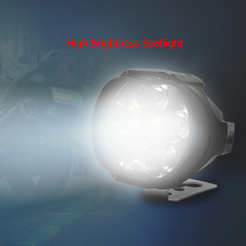 CNSUNNYLIGHT Motorbike Scooter LED Spotlight Motorcycles Headlight (9)