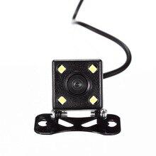 4 Lampade A Led di Visione notturna Telecamera Retromarcia HD CDD Retrovisione Camara lente 2.5mm Jack con 6 Metri Cavo per Auto Specchio DVR Registratori