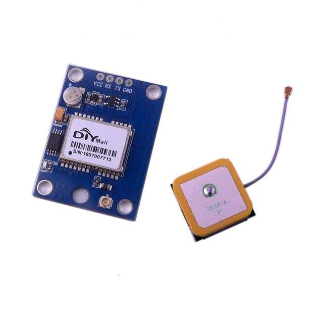 DIYmall GPS Module Actieve GPS Keramische Antenne met Flash voor Arduino Raspberry Pi DIY0072