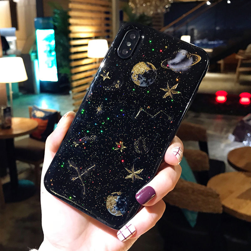 Galaxy Fashion Case for iPhone SE (2020) 18