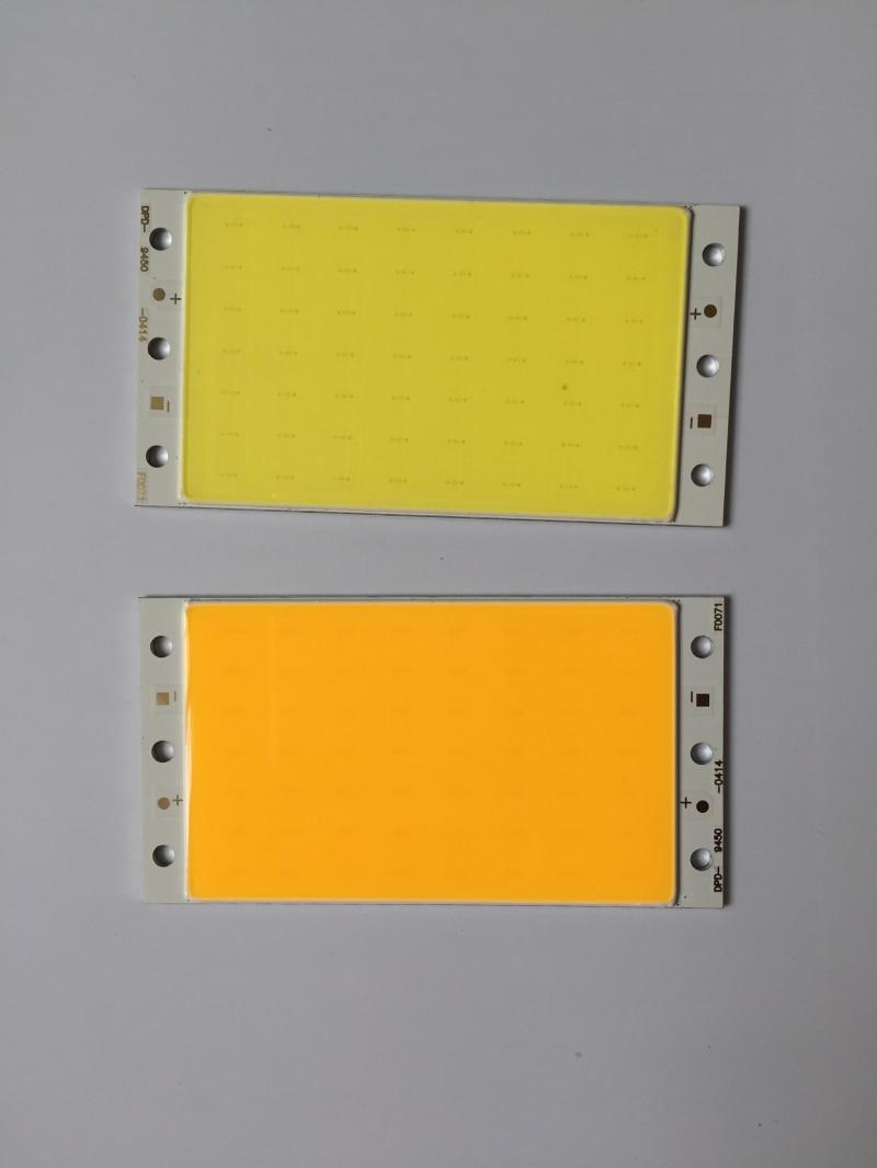 LED sloksne COB gaismas virsmas gaisma 10 w ir piemērota LED galda lampas vieglajam transportlīdzeklim, automašīnu gaismām