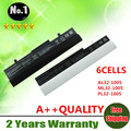 Wholesale New 6cells laptop battery  FOR  Asus Eee PC 1001HA 1005  series AL31-1005 AL32-1005 ML32-1005 PL32-1005  free shipping