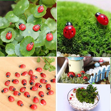 50Pcs Cute Ladybug Shaped Fridge Sticker Cartoon Animal Pattern Decoration Toy for Kids Free shipping