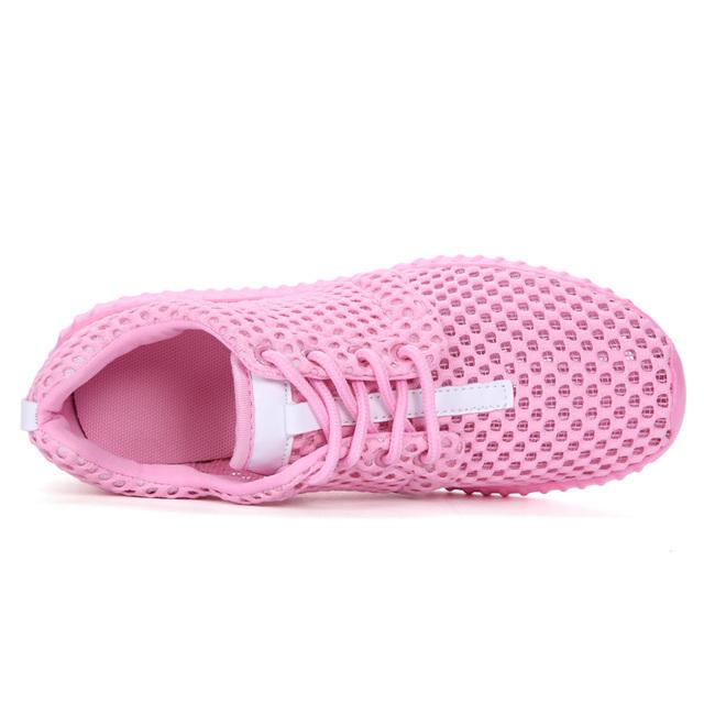 2019 Spring/Summer Nice Sport Shoes For Women Lightweight Mesh Running Sneakers Women Luxury Black Pink Walking Jogging Sneakers