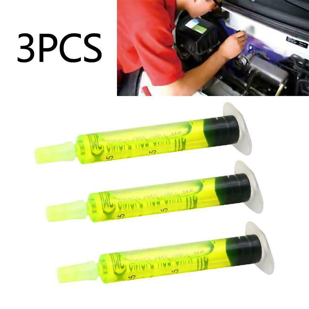 3 шт. практичный кондиционер инструмент для обслуживания шин ремонт холодильного Tracer масло флуоресцентный тест утечки R134A обнаружения автомобиля