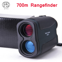 Sale Tactical Hunting Optics 700m Laser Rangefinder Scope 10X25 Binoculars Outdoor Golf Distance Meter Measure Telescope